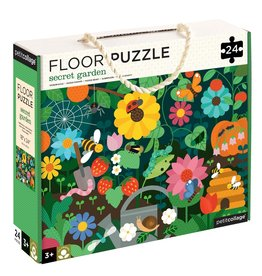 Petit Collage Petit Collage - Secret Garden Floor Puzzle 24pce