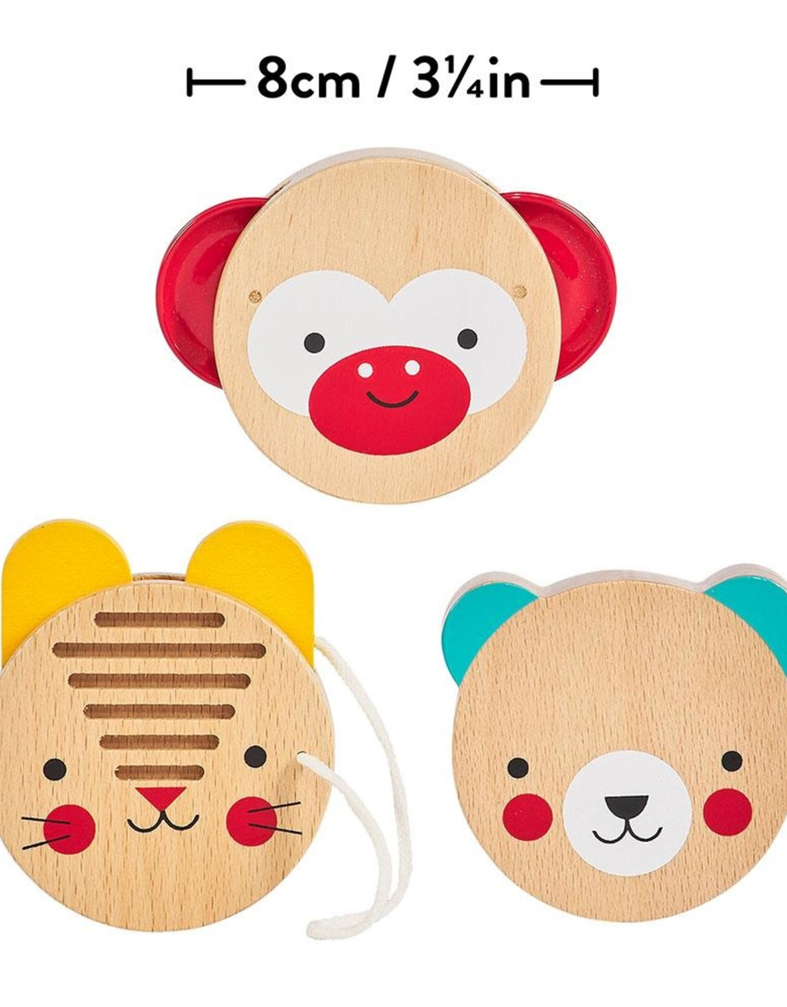 Petit Collage Petit Collage - Animal Friends Wooden Percussion Set