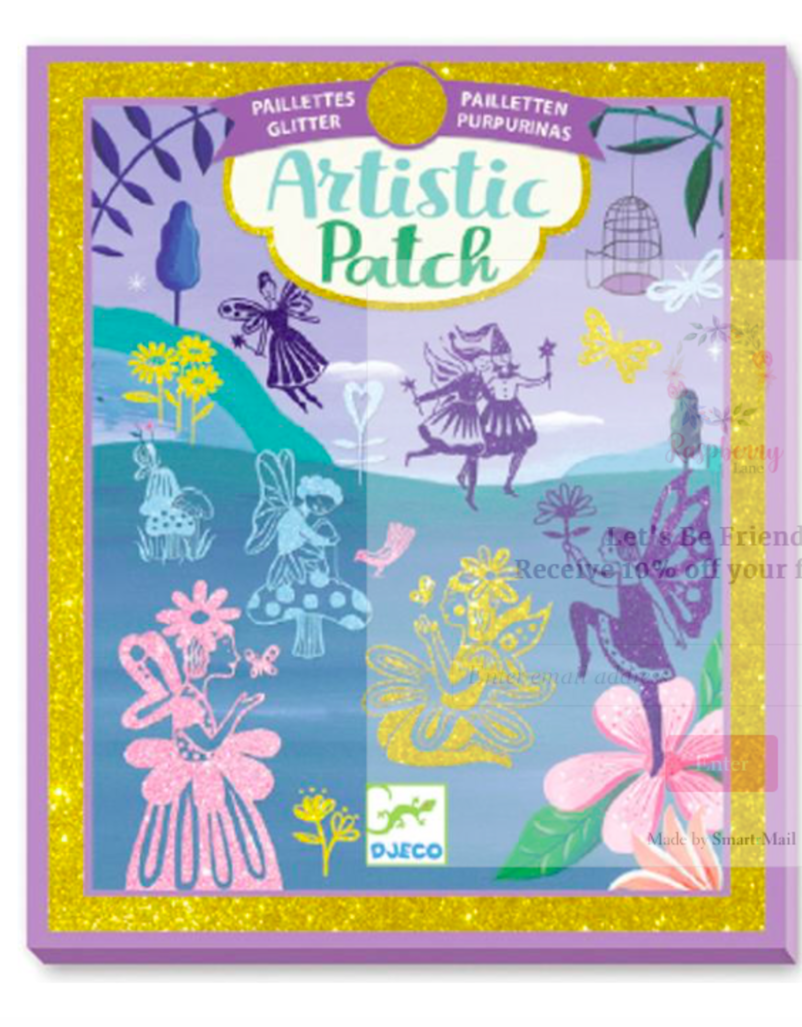 Djeco Djeco - Artistic Patch Glitter Fairy