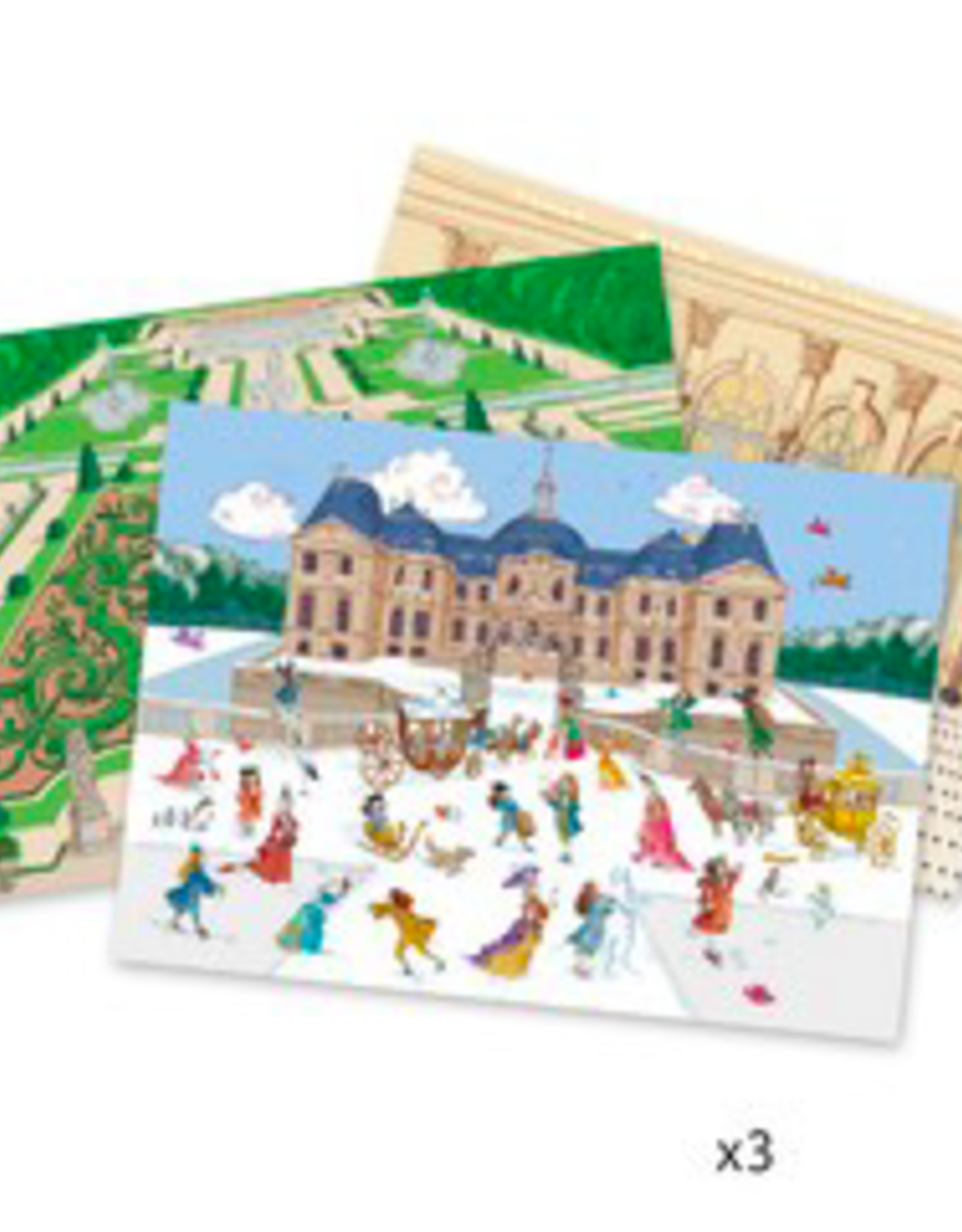 Djeco Djeco - Chateau Decals