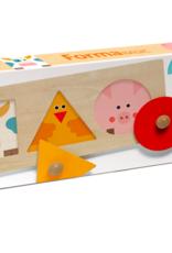 Djeco Djeco - Formabasic Wooden Puzzle