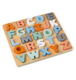 Janod Janod - Alphabet Puzzle and Drawing Board