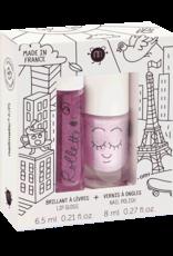 Nailmatic Nailmatic - Kids Lip Gloss & Nail Polish Gift Pack Lovely City