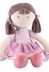 Bonikka Bonikka - Brook  Brown Hair Pink Dress