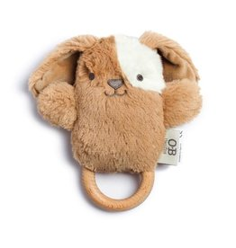 O B Designs O.B Designs - Wooden Teether Duke Dog