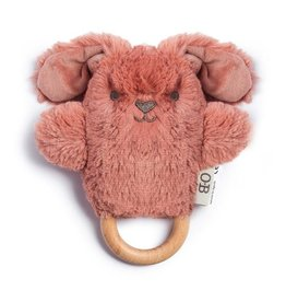 O B Designs O.B Designs - Wooden Teether Bella Bunny