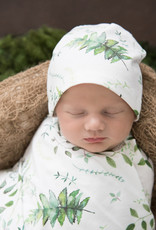Snuggle Hunny Snuggle Hunny - Enchanted Baby Jersey Wrap & Beanie Set