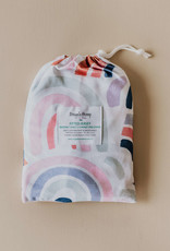 Snuggle Hunny Snuggle Hunny - Rainbow Baby Fitted Bassinet Sheet Change Pad Cover
