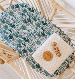 Snuggle Hunny Snuggle Hunny - Arizona Fitted Bassinet Sheet Change Pad Cover