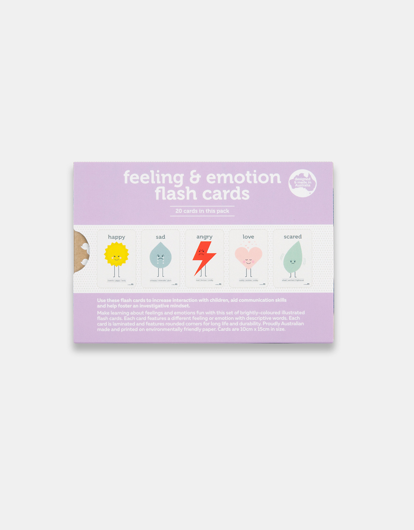Two Little Duckings Two Little Ducklings - Feelings & Emotions Flash Cards