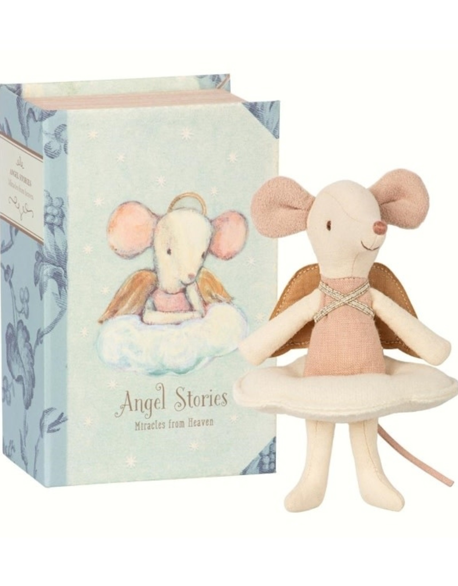 Maileg Maileg - Angel Mouse In Book