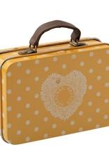 Maileg Maileg - Suitcase Metal Yellow Dot