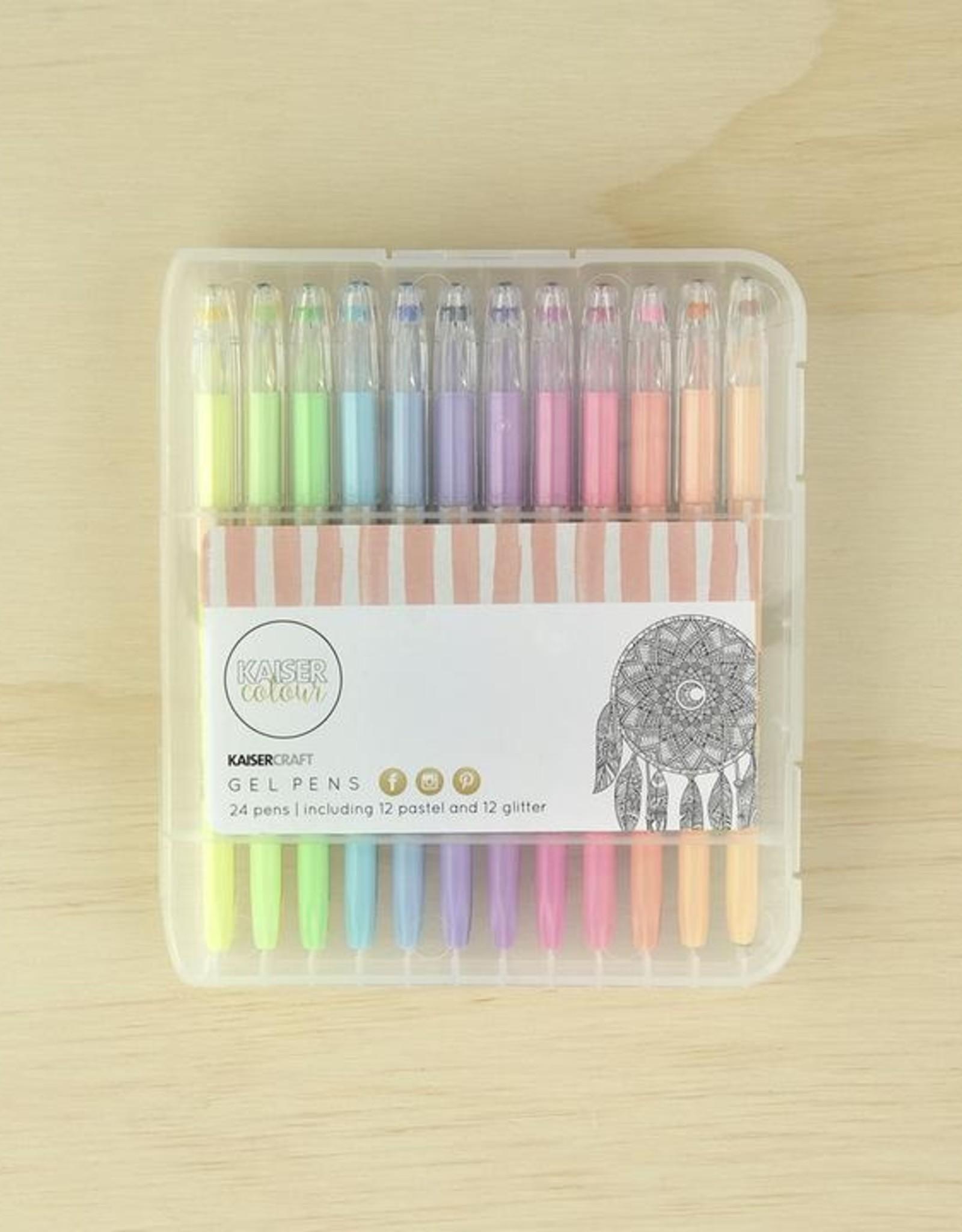 Kaisercraft Gel Pens Box 24 Colours