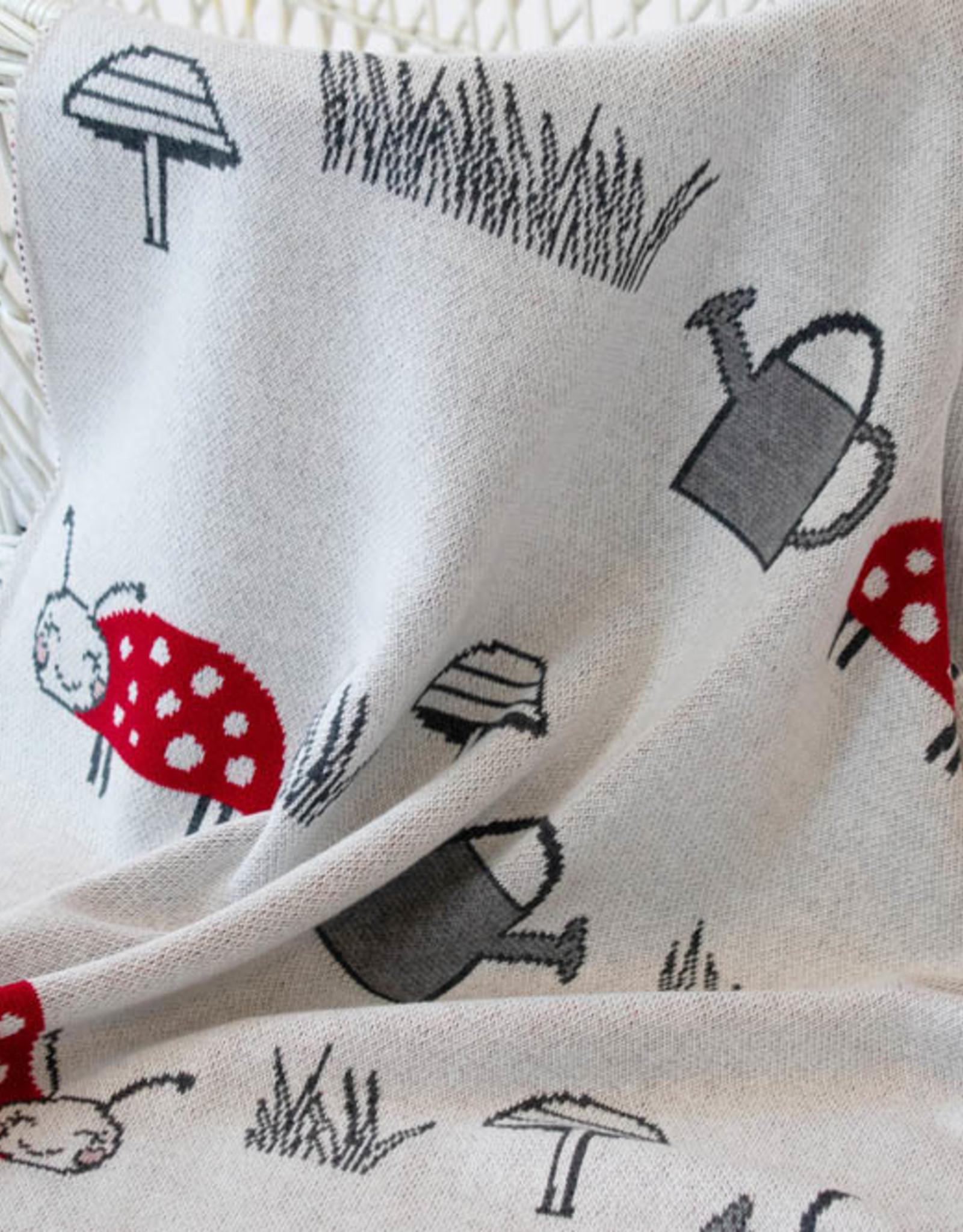 Indus Design Indus - Lily Ladybug Blanket