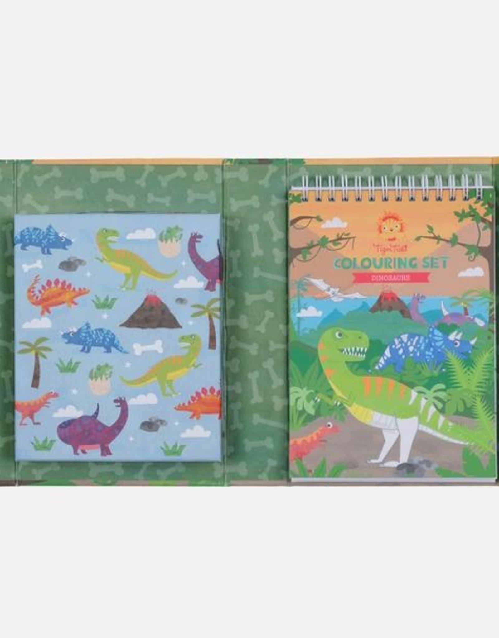 Tiger Tribe Tiger Tribe - Dinosaurs Colouring Set