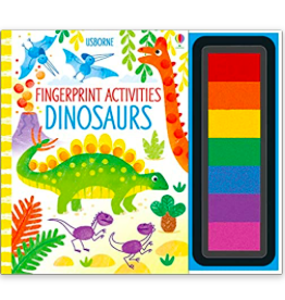 Usborne Usborne - Fingerprint Activities Dinosaurs