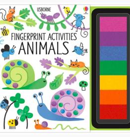 Usborne Usborne - Fingerprint Activities Animals