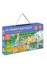 MierEDU My Finger Maze Puzzle - At The Zoo