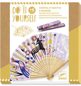 Djeco Djeco - Do It Yourself Fan and Case To Color