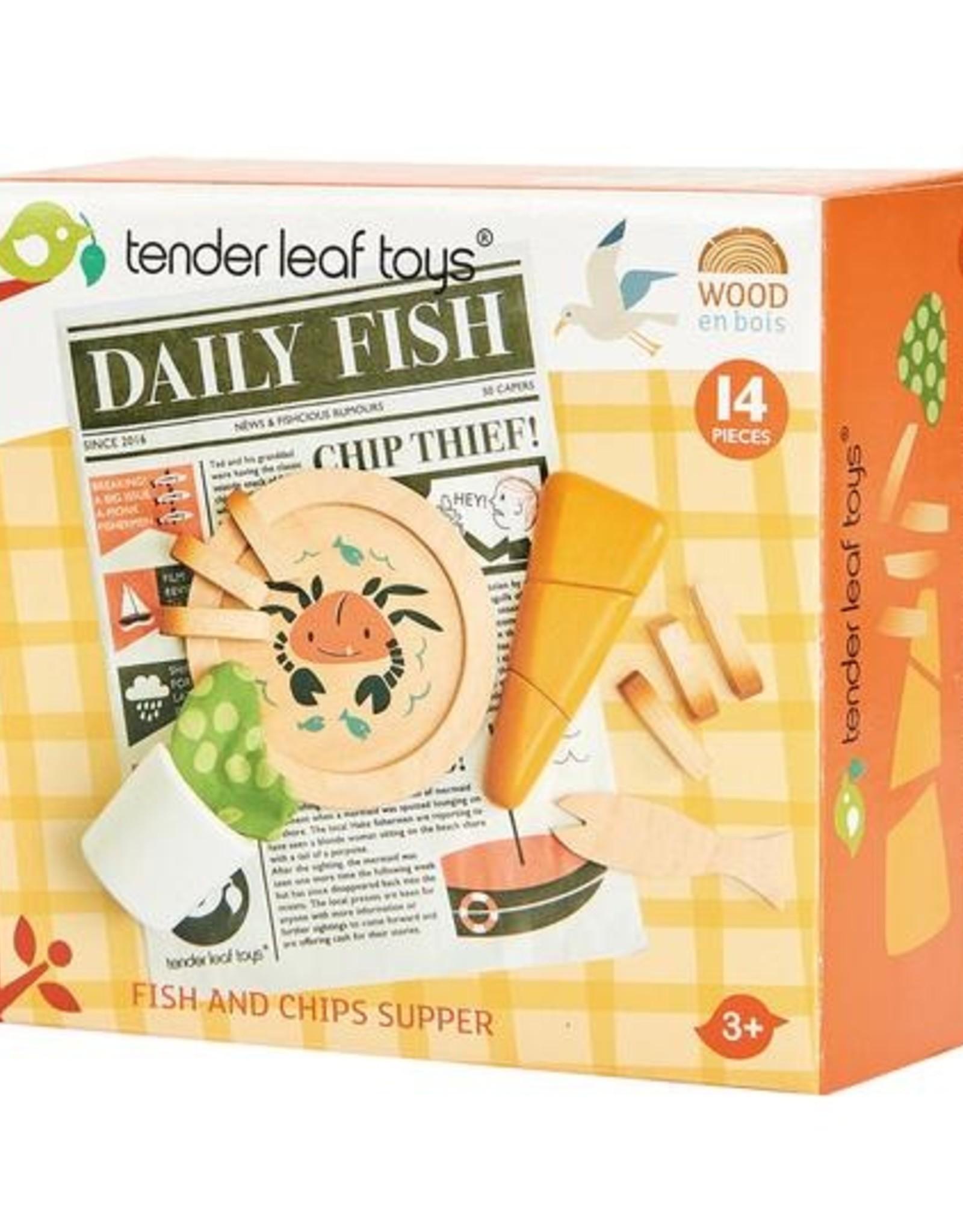 Tender Leaf Toys Tender Leaf - Daily Fish & Chips