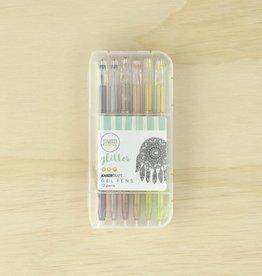 Kaisercraft Gel Pen Box 12 Gliiter