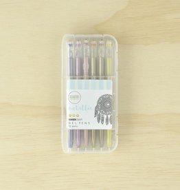 Kaisercraft Gel Pen Box 12 Metallic
