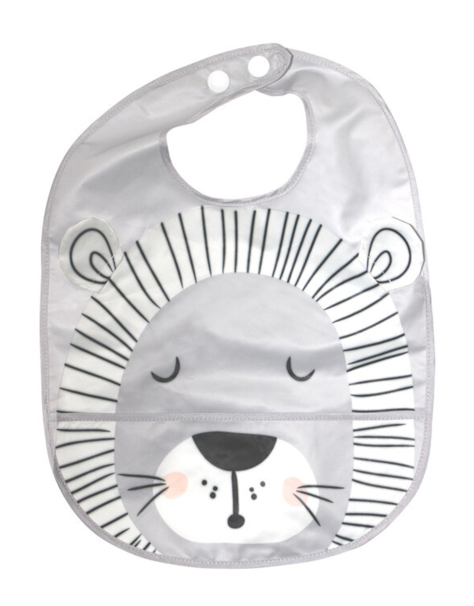 Mister Fly Mister Fly Wipeable Bib - Lion
