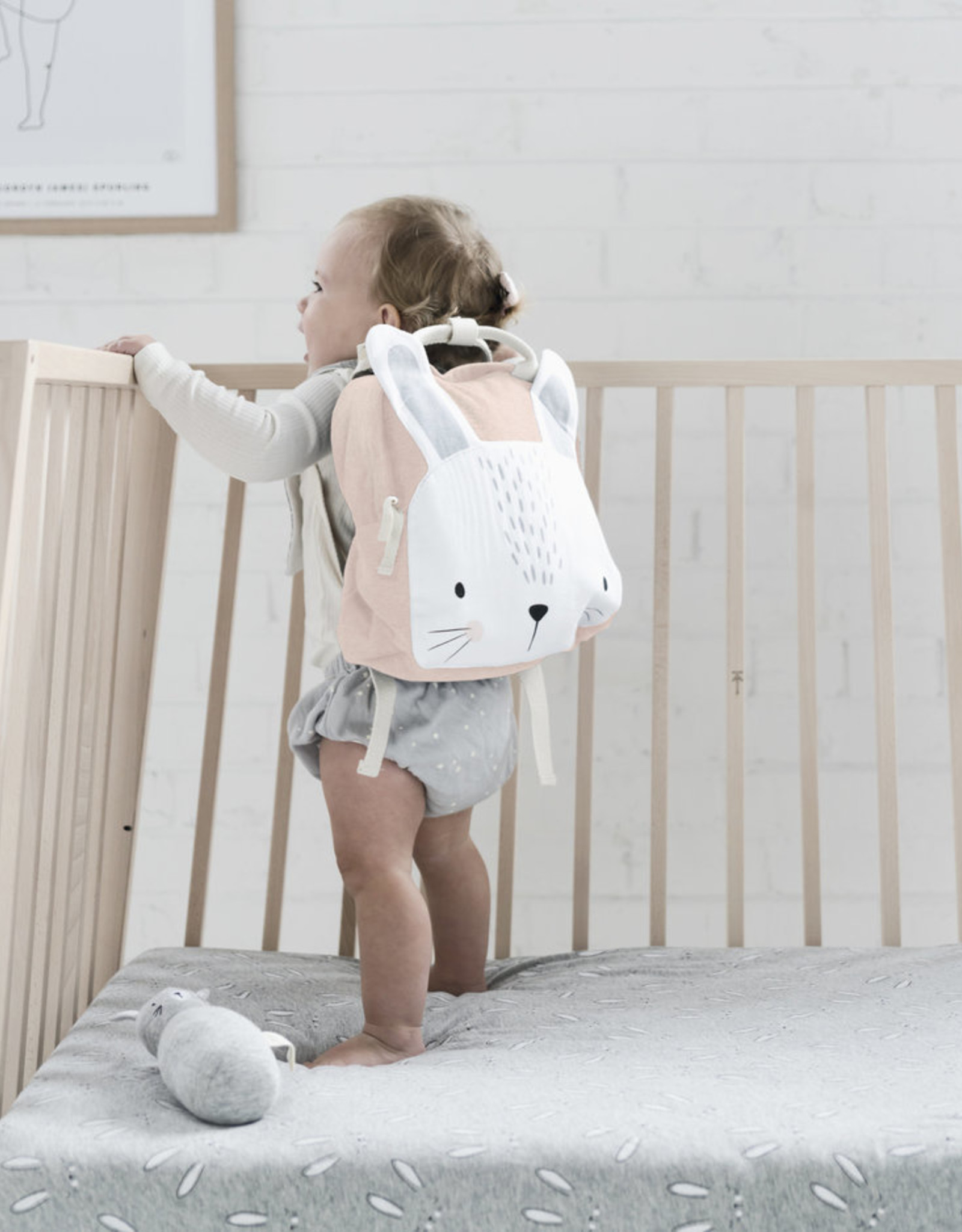 Mister Fly Mister Fly Backpack - Pink Bunny