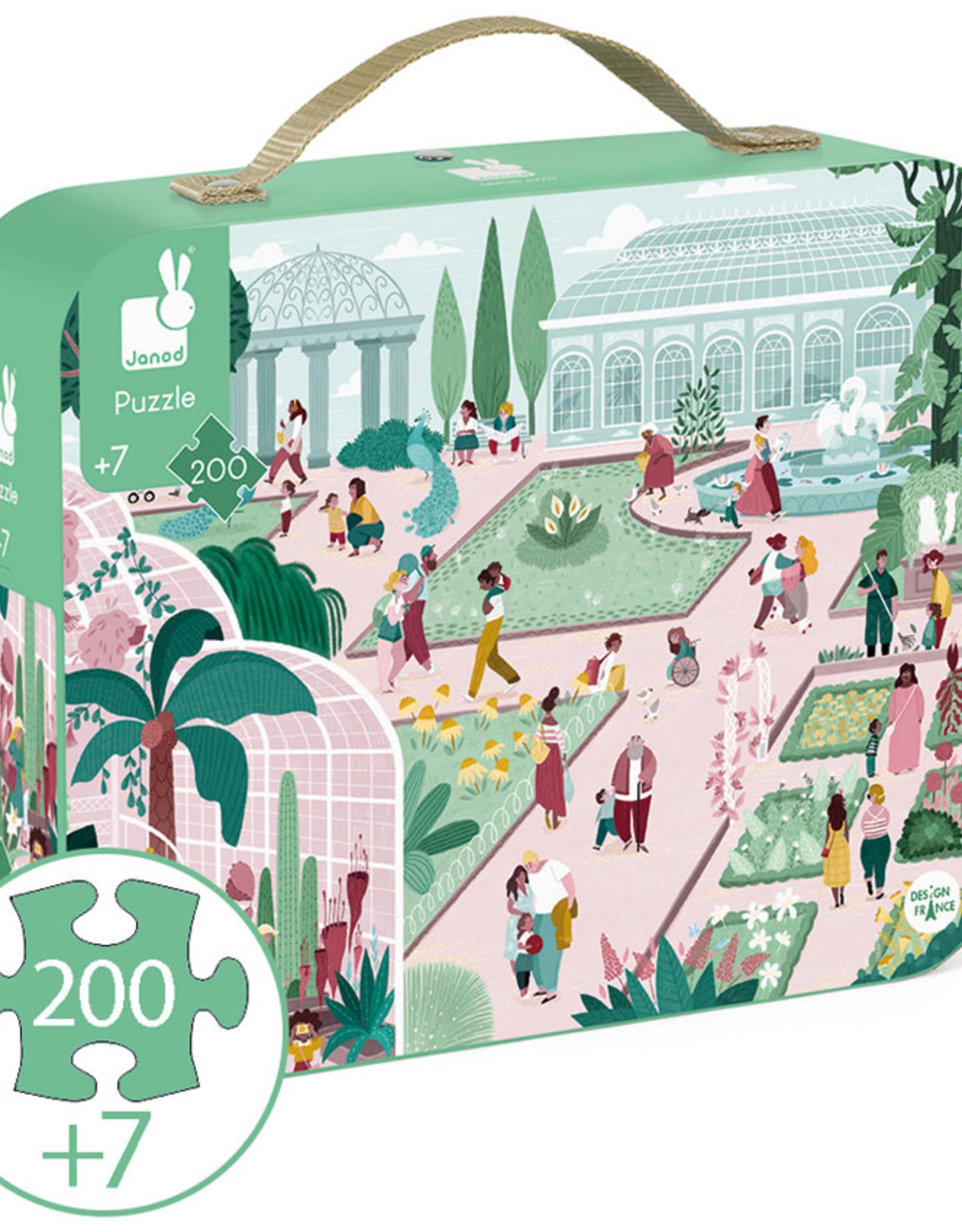Janod Janod - Botanical Garden Puzzle 200pce