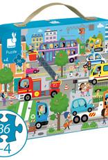 Janod Janod - City Puzzle 36pce