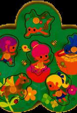 Janod Janod - Fairies Peg Puzzle