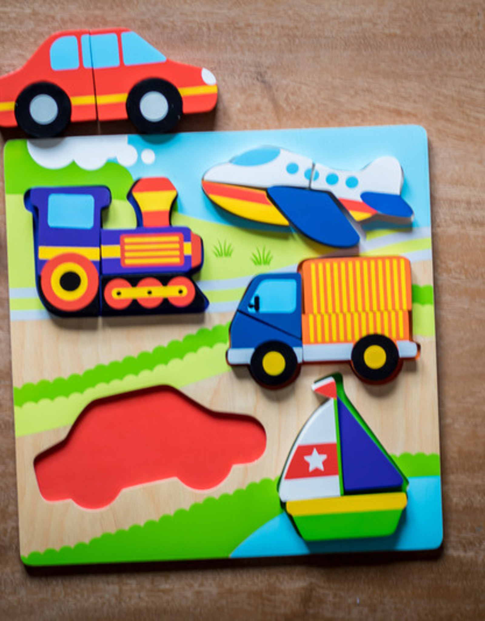 Kiddie Conect Kiddie Connect - Transport Jigsaw Chunky Puzzle