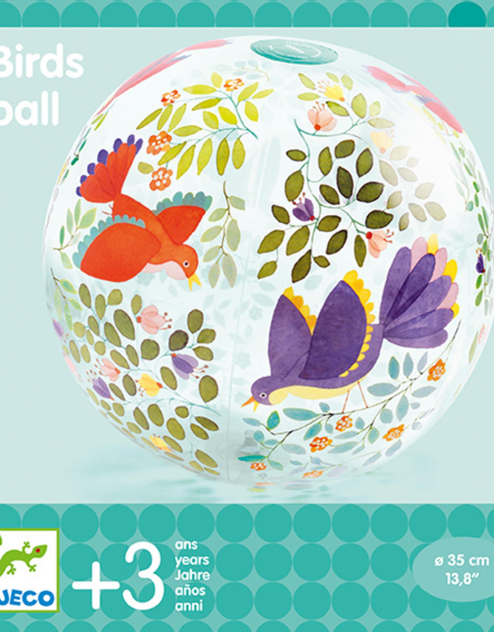 Djeco Djeco - Inflatable Birds Ball