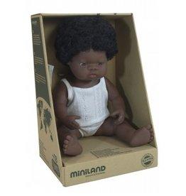 Miniland Miniland Baby Doll 38cm - African Girl