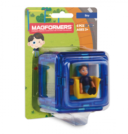Magformers Magformers - Figure Plus Set Boy Square