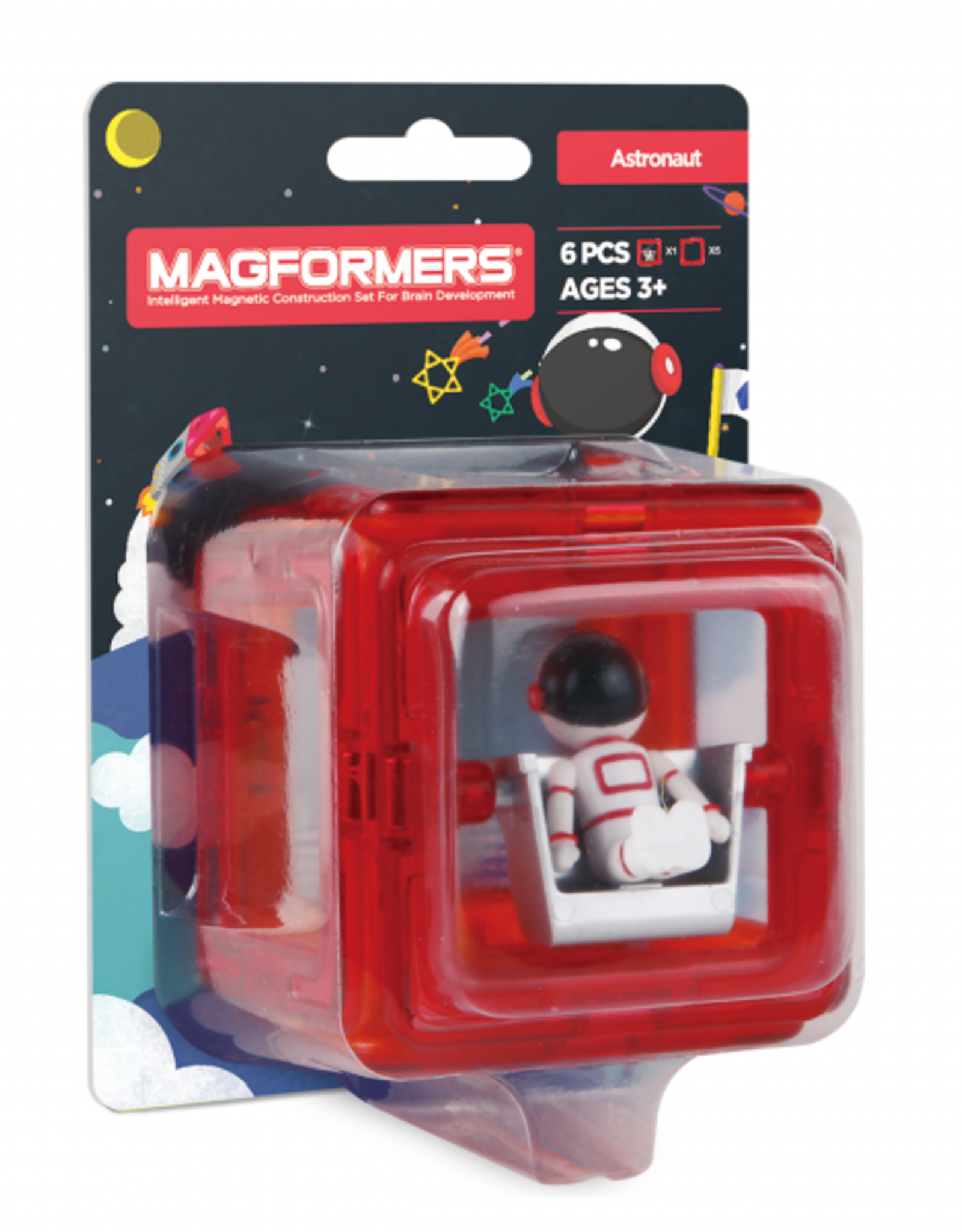 Magformers Magformers - Figure Plus Set Astronaught Square