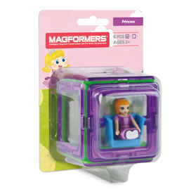 Magformers Magformers - Figure Plus Set Princess Square