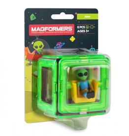 Magformers Magformers - Figure Plus Set Alien Square