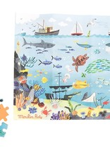 Moulin Roty Moulin Roty - Le Jardin Assorted Puzzles - Ocean 96pce