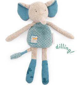 Moulin Roty Moulin Roty - Sous Mon Baobab Elephant Rattle