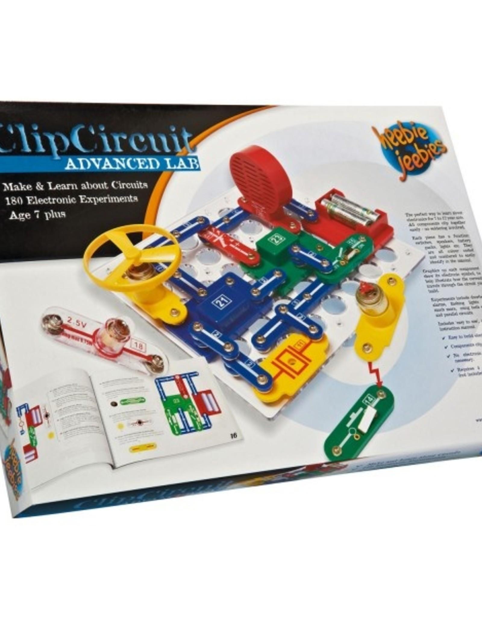 Heebie Jeebies Clip Circuit Advanced Lab
