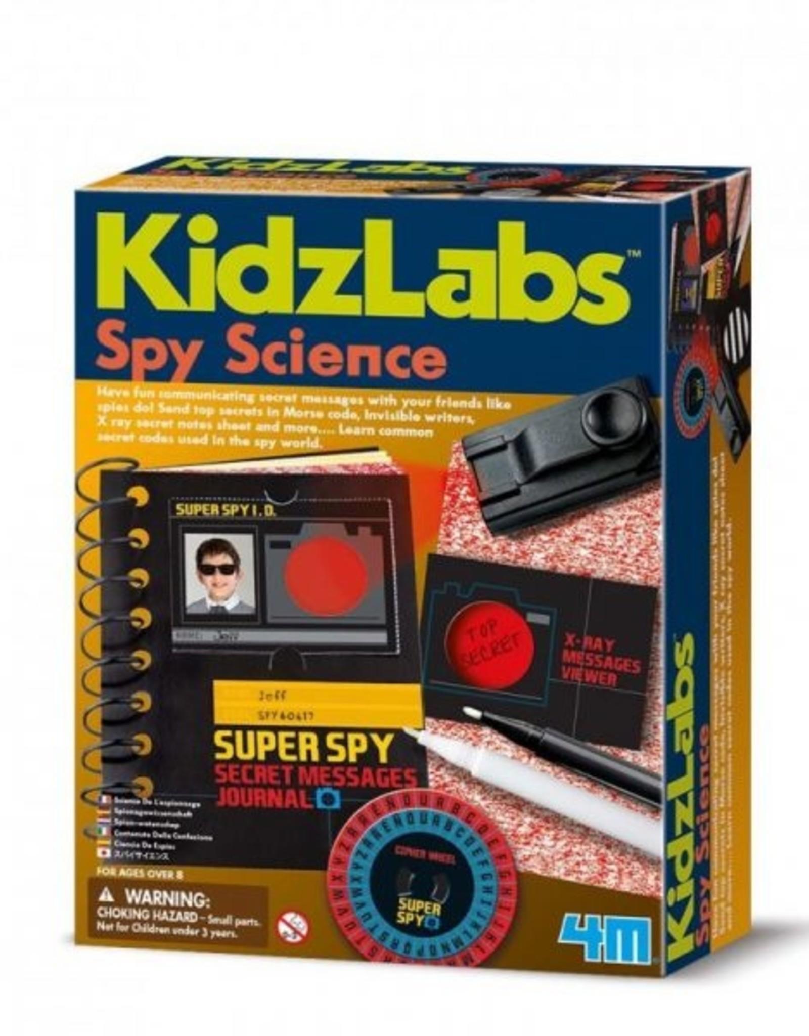 4M 4M Kidzlabs - Spy Science