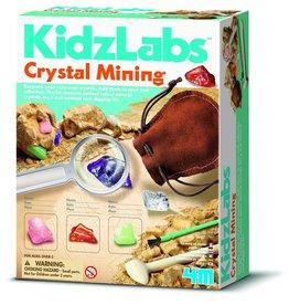 4M 4M KidzLabs - Crystal Mining