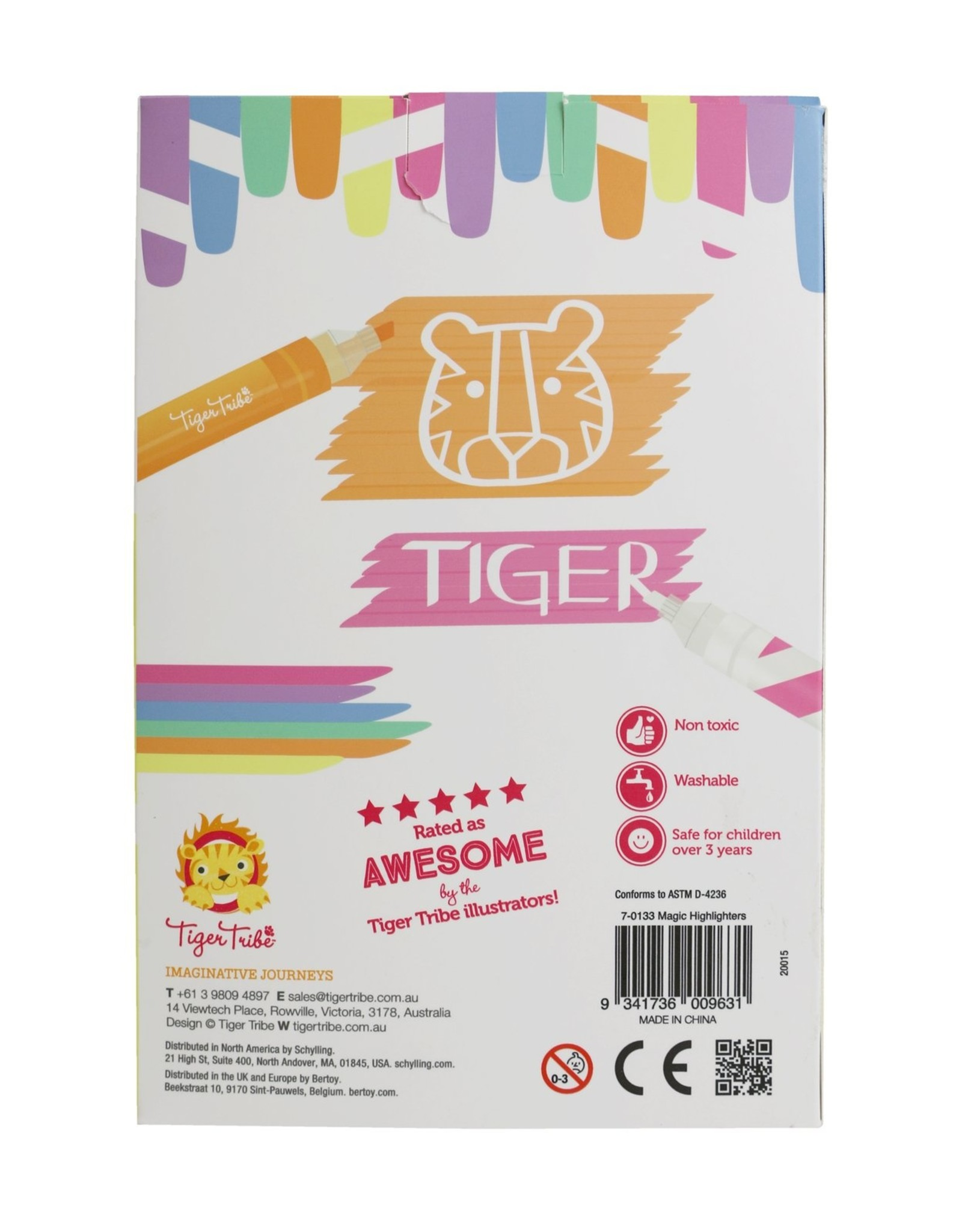 Tiger Tribe Tiger Tribe - Magic Highlighters