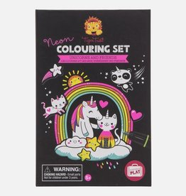 Tiger Tribe Tiger Tribe - Neon Colouring Set Unicorns & Friends