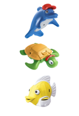 Happy Planet Toys - Reef Rescue Crew Bath Friends