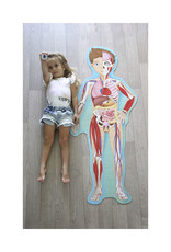 Sassi Sassi - Human Body 200 Pce Puzzle And Book Set