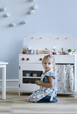 Cam Cam Cam Cam - Kids Oven Glove & Pot Holder Set Fleur