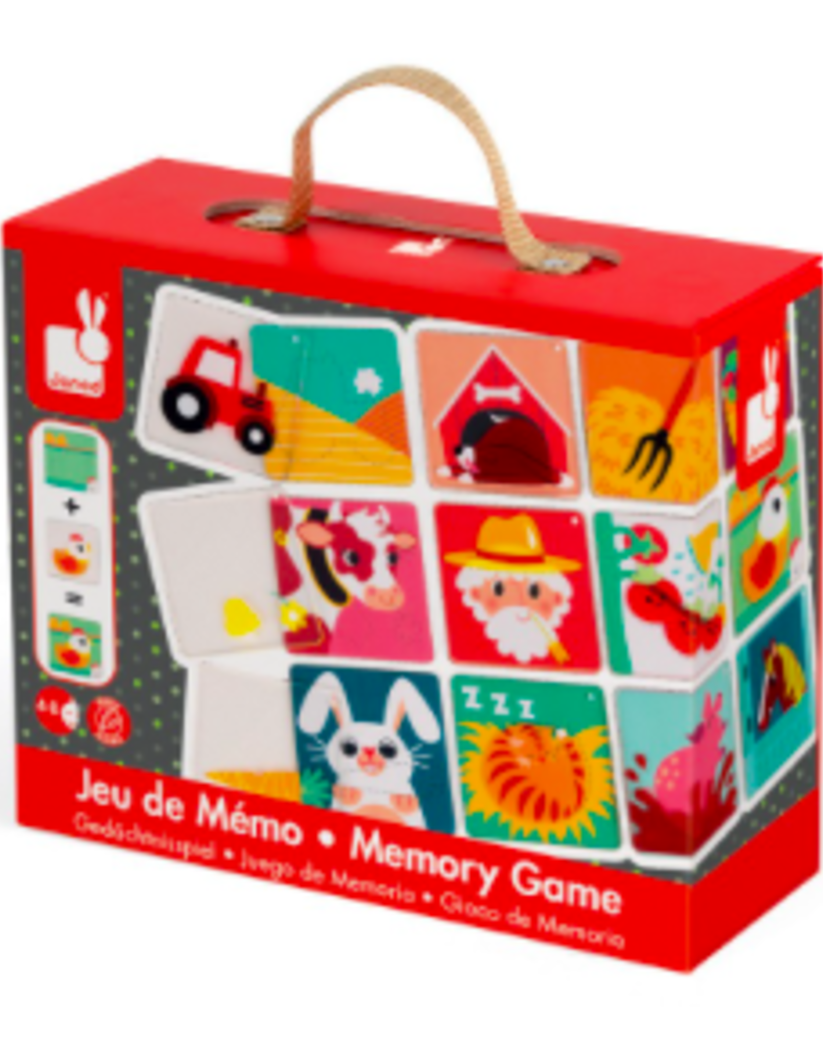 Janod Janod - Farm Memory Game Pleximemo