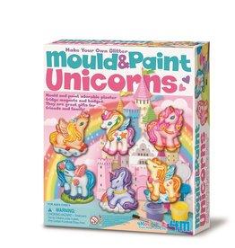 4M 4M Mould and Paint Unicorn